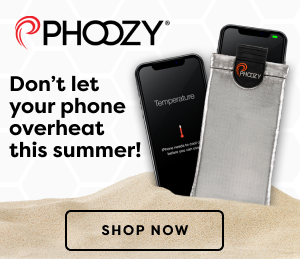 Don't let your phone overheat this summer! PHOOZY