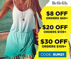 Enjoy 15% Off Site-wide throughout the Summer at Bellelily