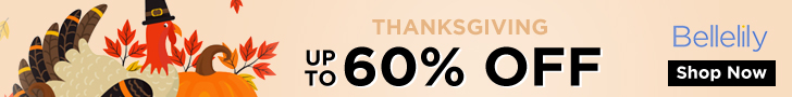 Thanks Giving Day UP to 60% OFF