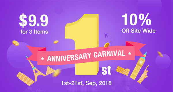 10% OFF Anniversary Carnival at Buybest.com