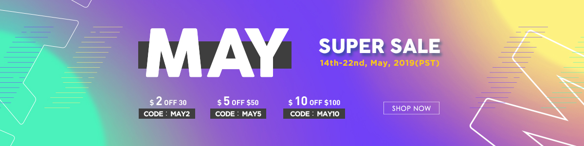 May Super Sale