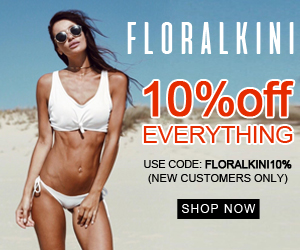 Floralkini take 10% off your first purchase