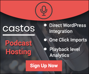 Castos podcast hosting
