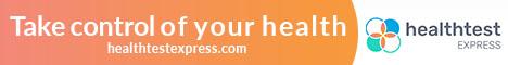 Health Test Express banner