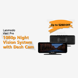 New coupon in September only! Get $30 off for Lanmodo Vast Pro