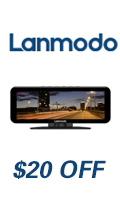 Lanmodo Vast Pro — 1080P Night Vision with Dashcam