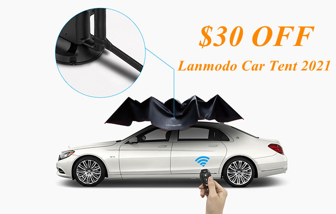Lanmodo Car Tent Updated Version 2021