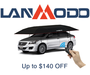 lanmodo car tents up to $140 off
