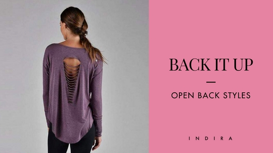 Open-Back Women's Tops