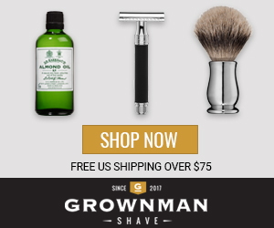 Grown Man Shave - Carefully Curated Men's Wet Shaving Products