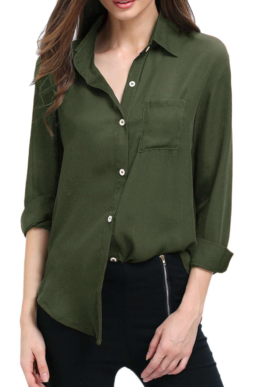 Iyasson Women's Long Sleeve Shirts