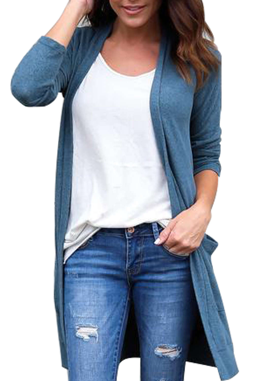 Iyasson Women's Long Sleeve Cardigan