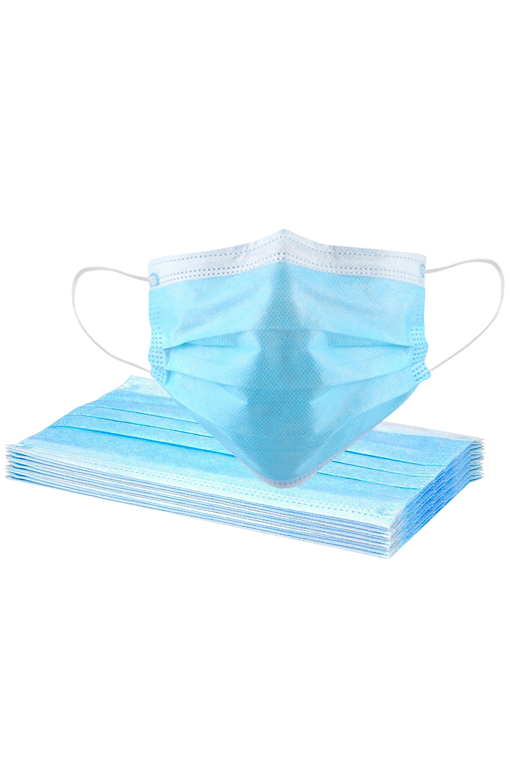 Gift-Not for Sale 1 Pcs Disposable Face Masks with Elastic Ear Loop 3 Ply for Blocking Dust Air Pollution Protection