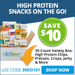 $10 OFF HIGH PROTEIN SNACK BOX