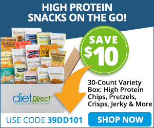 $10 OFF HIGH PROTEIN SNACK BOX!