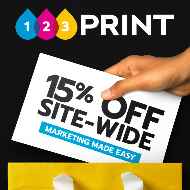 15% Off Everything at 123Print