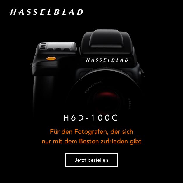 Hasselblad H6D-100c Kamera, für den Fotografen, der sich nur mit dem Besten zufrieden gibt. Jetzt bestellen!