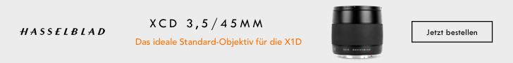 Hasselblad XCD 3,5/45MM lens - Das ideale Standard-Objektiv für die X1D. Jetzt bestellen!
