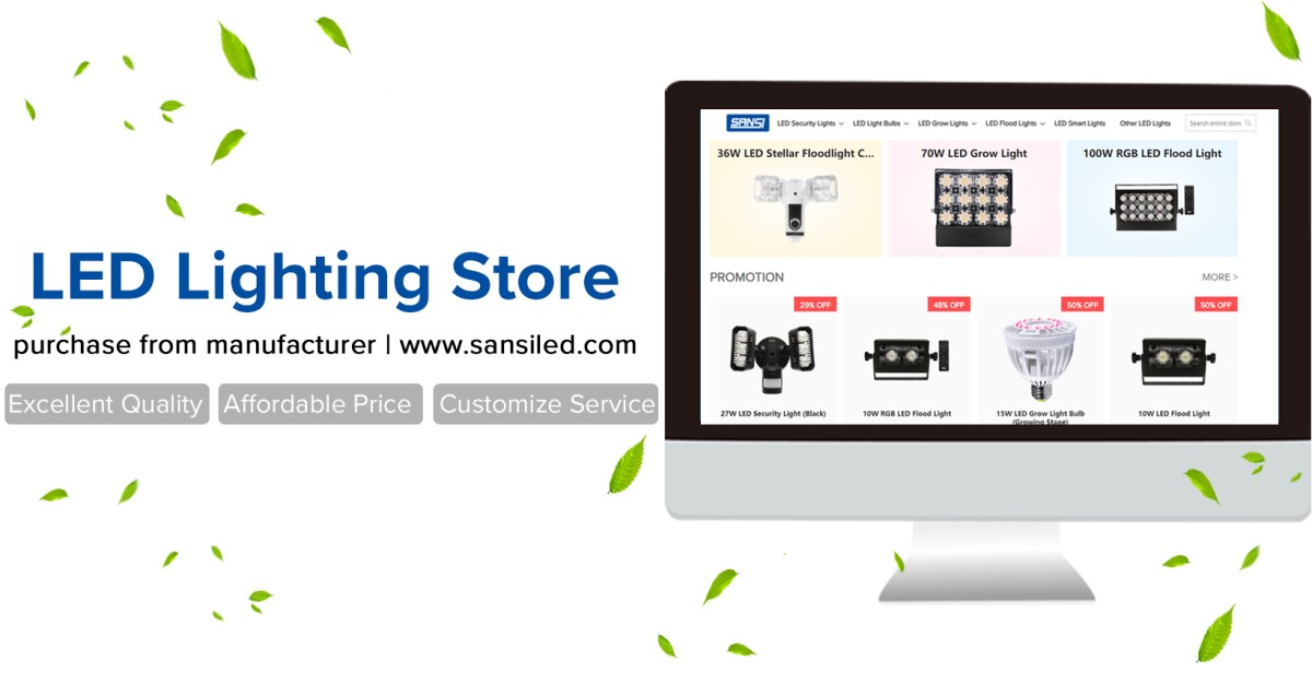 www.sansiled.com - extra 5% off first order