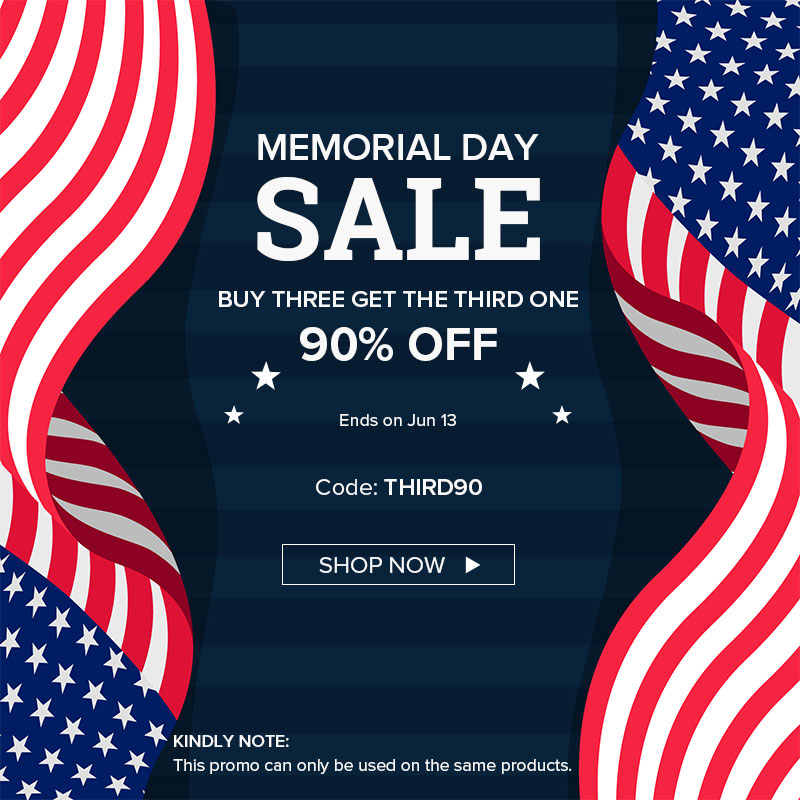 SANSI US00800 800 - Meomorial Day Sale - Buy Three Get The Third One 90% OFF