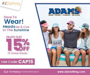 Summer Sale-ADAMS CAP Flat 15% OFF
