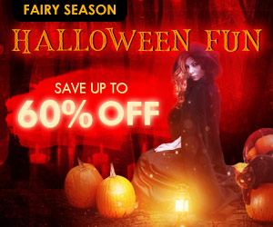 Save Up To 60% for Halloween Clothes!