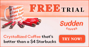 Free Trial - Sudden Coffee 300x160
