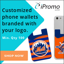 Customized phone wallets branded with your logo