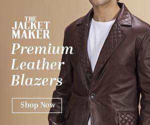 Mens Leather Blazers