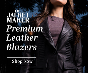 Womens Leather Blazers
