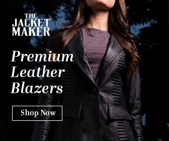 Womens Leather Blazers