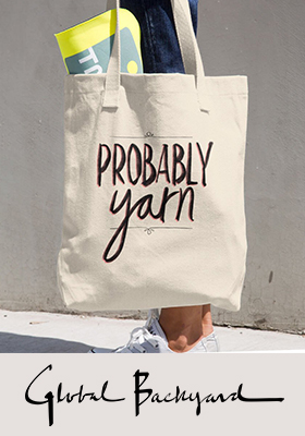 """Probably Yarn"" Tote Bag"