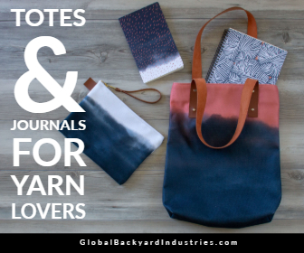 Totes & Journals for Yarn Lovers