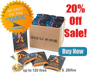 InstaFire Fire Starters