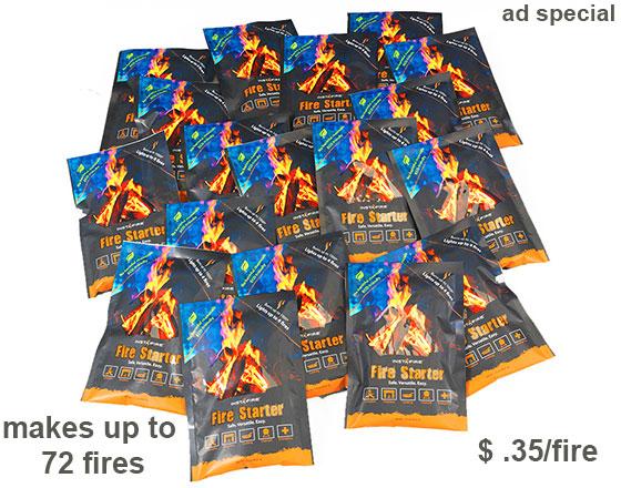 InstaFire 18 Pack