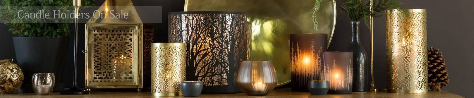 Luxury candle holders online