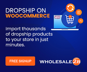 Dropship on WooCommerce with Wholesale2B
