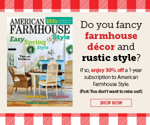 AMERICAN FARMHOUSE STYLE FLAT 30% OFF ON DIGITAL SUBSCRIPTION