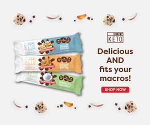 KissmyKeto Snacks Banner 300x250