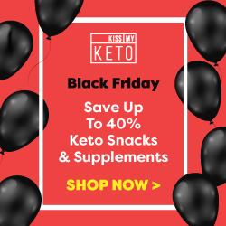 Kiss My Keto Keto Black Friday 250x250 banner