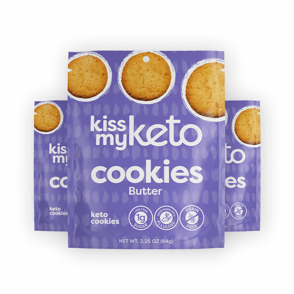Kissmyketo.com - Keto Cookies - 3 Pack