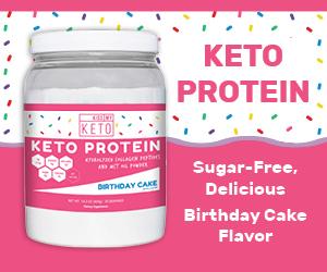 Kissmyketo Keto Protein Birthday Cake