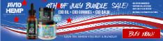 Avid Hemp CBD 4th of July Sale