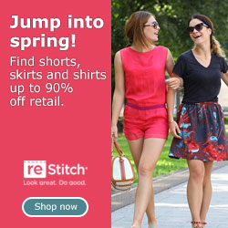 Jump into spring! Find shorts, skirts and shirts up to 90% off retail.