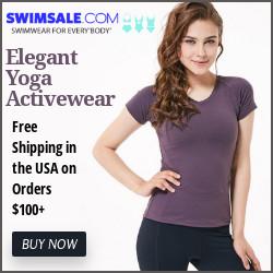 Elegant yoga Activewear