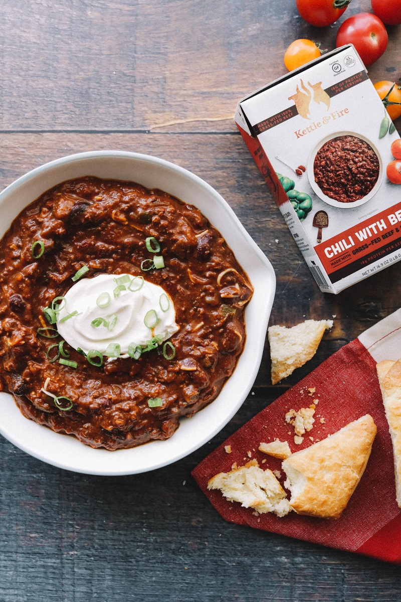 Beef Chili with Bone Broth