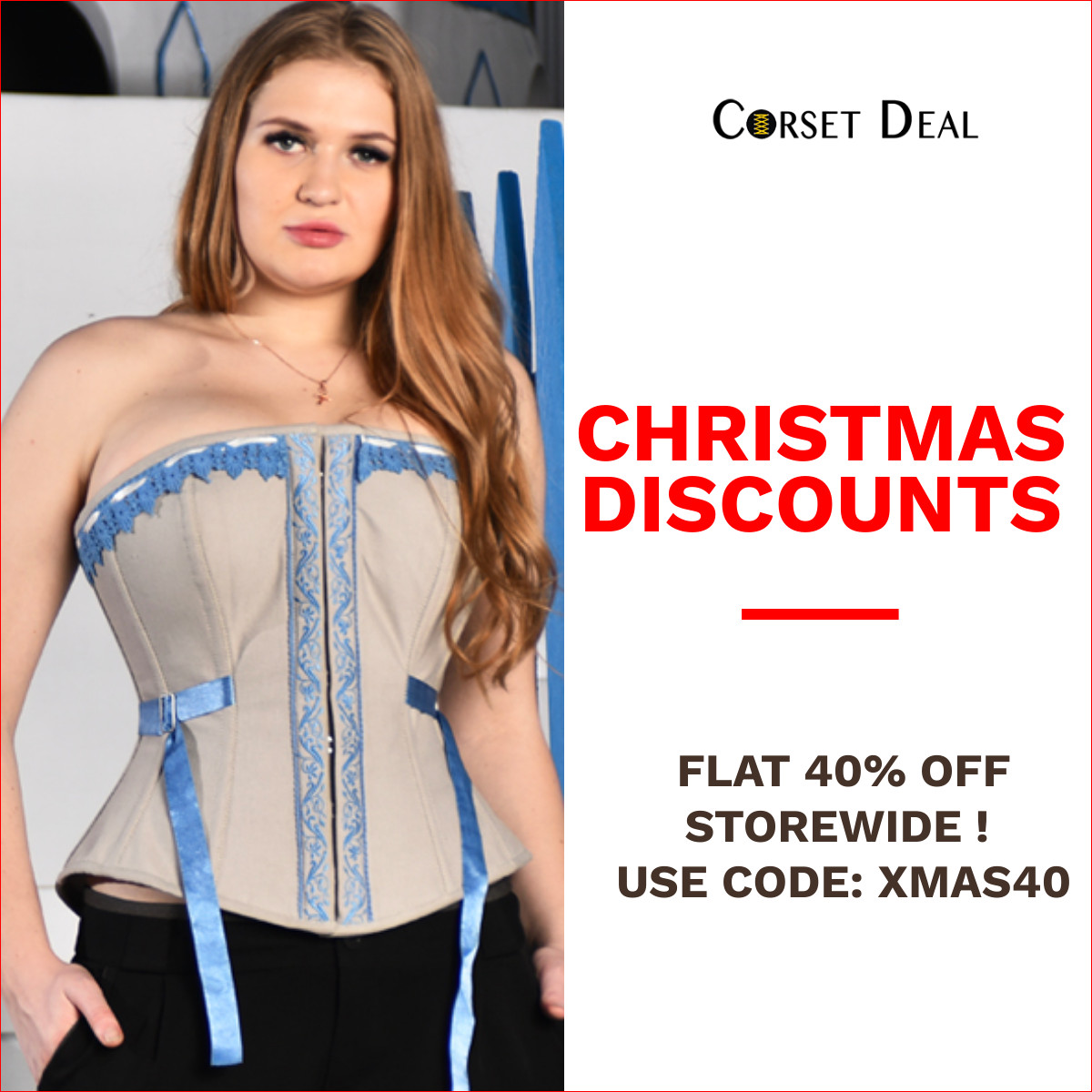 Christmas Discounts Flat 40% Off Storewide