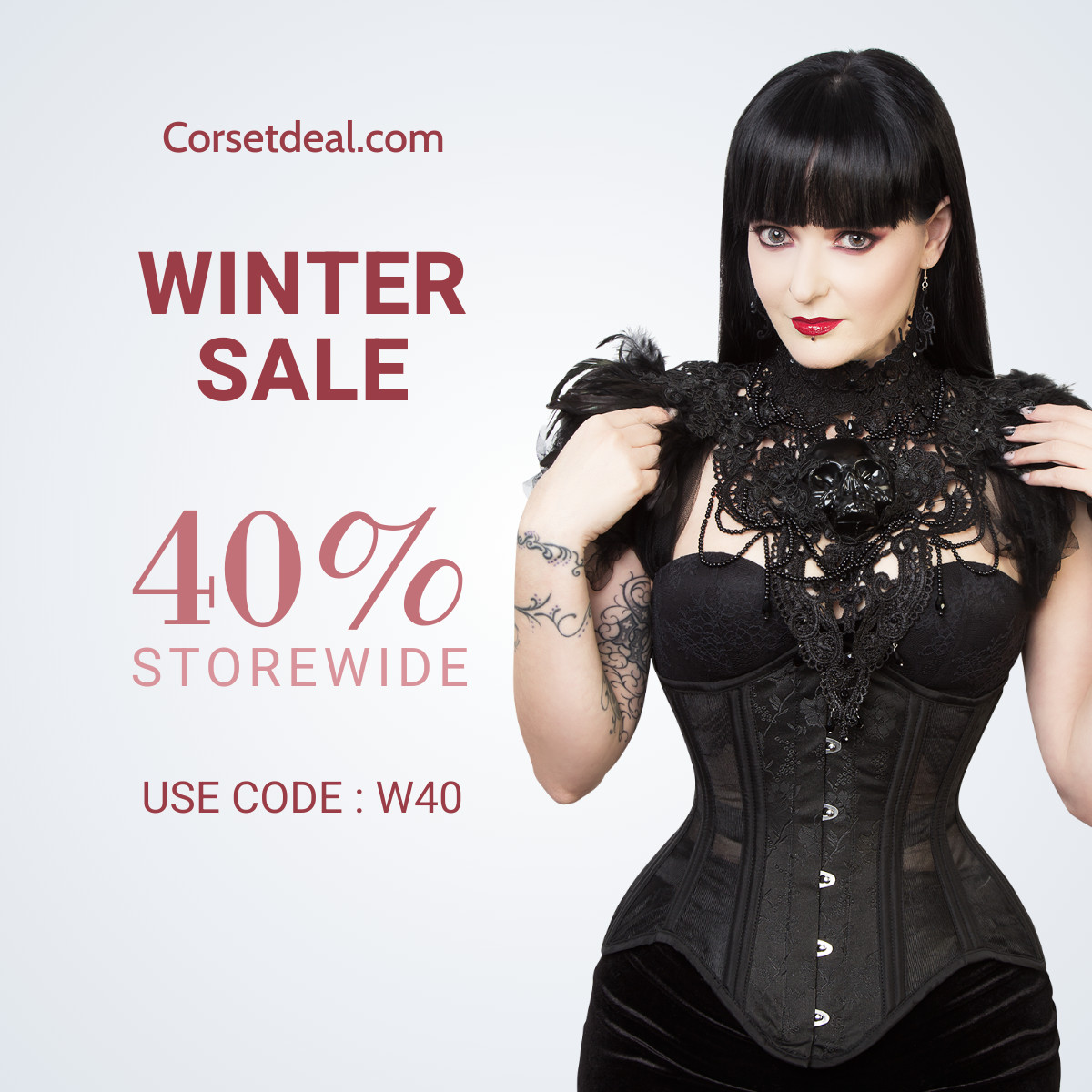 Winter Sale 40% Storewide Use Code W40