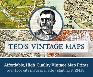 Visit Ted Vintage Maps Now