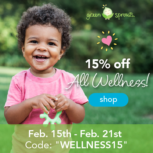 Now through Feb 21st Use Code:  WELLNESS15
